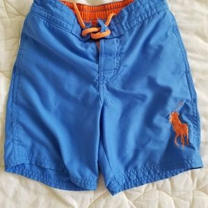 PoLO blue swim trunks